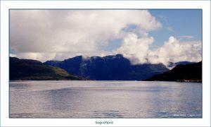 Sognefjord. Noruega